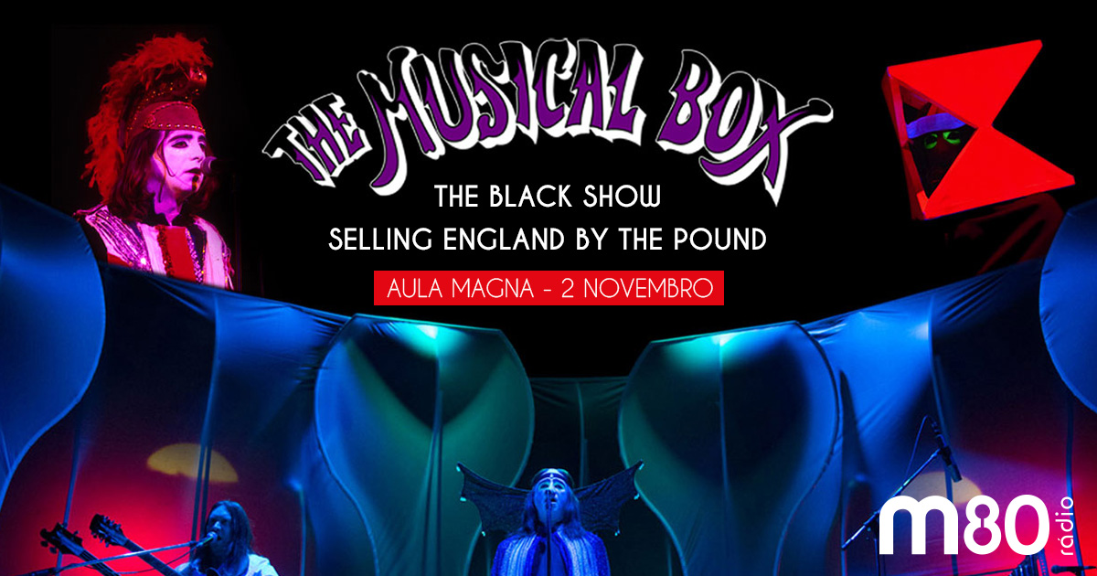 The Musical Box em Portugal!