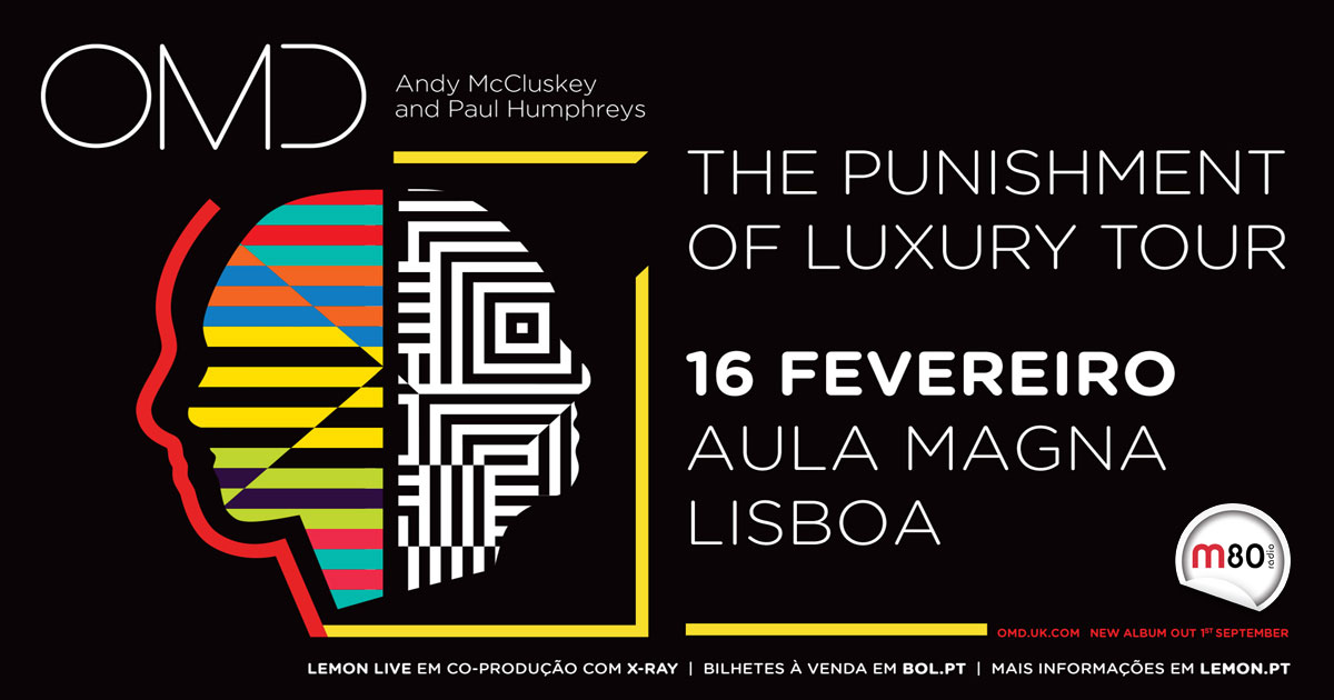 Orchestral Manoeuvres in the Dark em Portugal!
