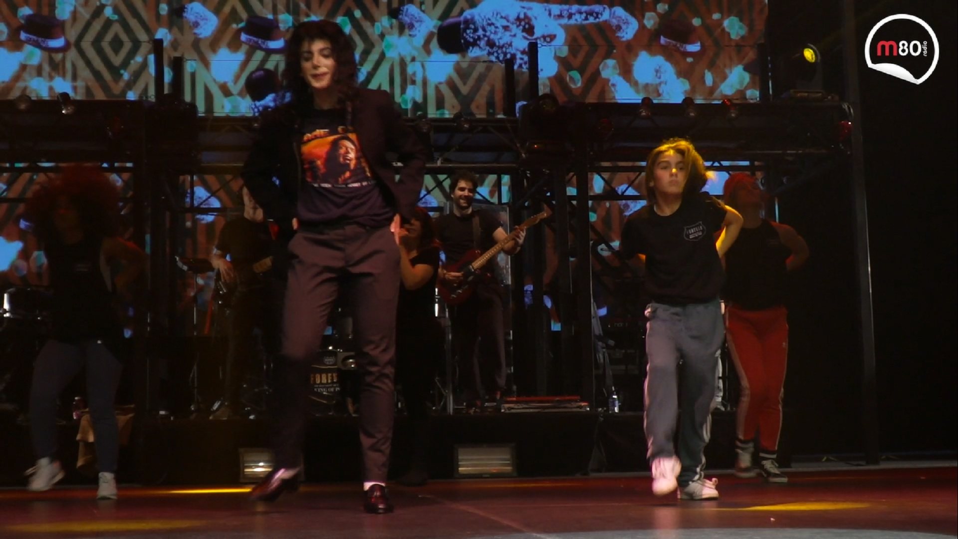 "Assistimos ao ensaio geral do Musical ""Forever King of Pop"""